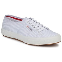 Sko Lave sneakers Superga 2750 COTUSHIRT Hvid / Blå