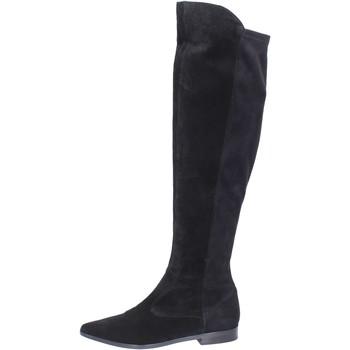 Sko Dame Lårhøje støvler Carmens Padova Støvler BJ811 Sort