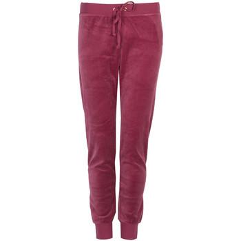 textil Dame Træningsbukser Juicy Couture  Rød