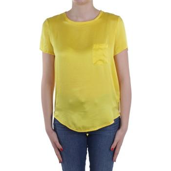 textil Dame Toppe / Bluser Manila Grace C335SU Yellow