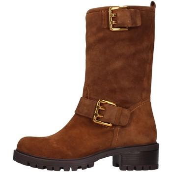 Sko Dame Chikke støvler Albano 1211 BROWN