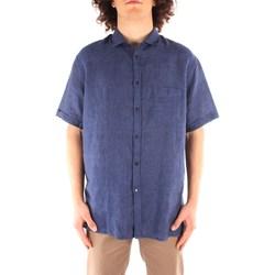 textil Herre Skjorter m. korte ærmer Trussardi 52C00213 1T002248 NAVY BLUE