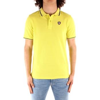textil Herre Polo-t-shirts m. korte ærmer Blauer 21SBLUT02272 YELLOW