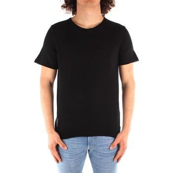 textil Herre T-shirts m. korte ærmer Blauer 21SBLUM01319 BLACK