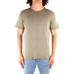 textil Herre T-shirts m. korte ærmer Blauer 21SBLUM01319 GREEN
