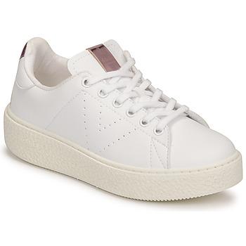 Sko Børn Lave sneakers Victoria TRIBU Hvid