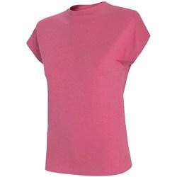 textil Herre T-shirts m. korte ærmer 4F TSD038 Pink