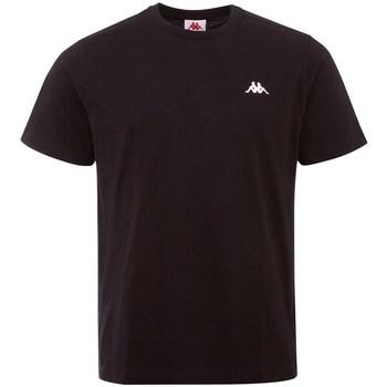 textil Herre T-shirts m. korte ærmer Kappa Iljamor Sort