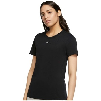 textil Dame T-shirts m. korte ærmer Nike Essential Tee Sort