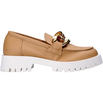 Sko Dame Mokkasiner Grace Shoes 631018 Beige