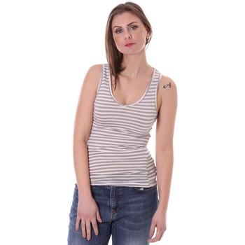textil Dame Toppe / T-shirts uden ærmer Vicolo FK0013 Grå