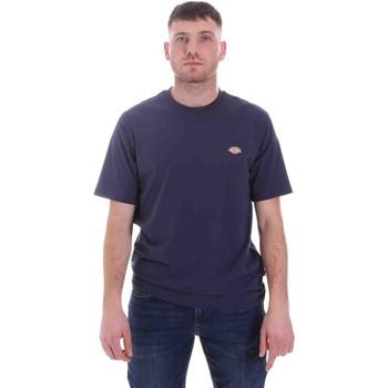 textil Herre T-shirts m. korte ærmer Dickies DK0A4XDBNV01 Blå