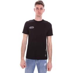 textil Herre T-shirts m. korte ærmer Disclaimer 21EDS50517 Sort