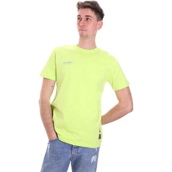 textil Herre T-shirts m. korte ærmer Disclaimer 21EDS50517 Grøn