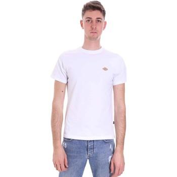 textil Herre T-shirts m. korte ærmer Dickies DK0A4XDAWHX1 hvid