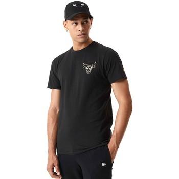 textil Herre T-shirts m. korte ærmer New-Era 12590868 Sort