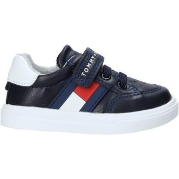 Sko Børn Sneakers Tommy Hilfiger T1B4-30702-0622Y004 Blå