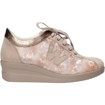 Sko Dame Sneakers Melluso HR20128 Beige