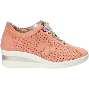 Sko Dame Sneakers Melluso HR20110 Orange