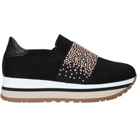 Sko Dame Slip-on Grace Shoes GLAM007 Sort