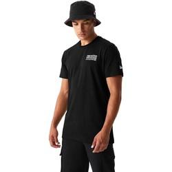 textil Herre T-shirts & poloer New-Era 12590875 Sort