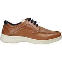 Sko Herre Sneakers Melluso XU17128 Brun