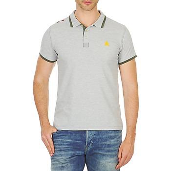 textil Herre Polo-t-shirts m. korte ærmer A-style LIVORNO Grå