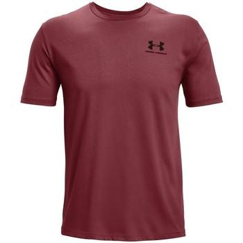 textil Herre T-shirts m. korte ærmer Under Armour Sportstyle LC Bordeaux