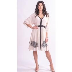 textil Dame Korte kjoler Fracomina F321SD2002W41801 Farveløs