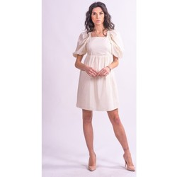 textil Dame Korte kjoler Fracomina F321SD1004W40001 Farveløs