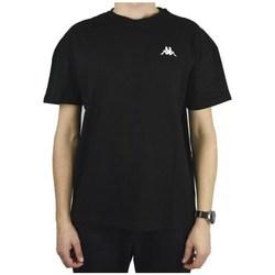 textil Herre T-shirts m. korte ærmer Kappa Veer Tshirt Sort