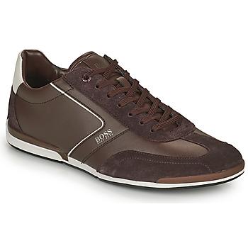 Sko Herre Lave sneakers BOSS SATURN LOWP ITAL Brun
