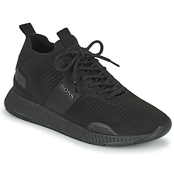 Sko Herre Lave sneakers BOSS TITANIUM RUNN KNST1 Sort