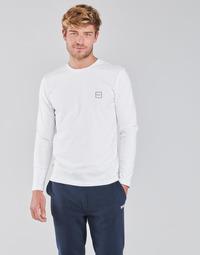 textil Herre Langærmede T-shirts BOSS TACKS Hvid