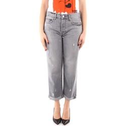 textil Dame Jeans - boyfriend Roy Rogers P21RND011G0170313 GREY