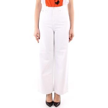 textil Dame Løstsiddende bukser / Haremsbukser Roy Rogers P21RND091P3211755 WHITE