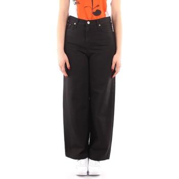 textil Dame Løstsiddende bukser / Haremsbukser Roy Rogers P21RND091P3211755 BLACK