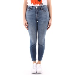 textil Dame Jeans - skinny Roy Rogers P21RND207D4221695 BLUE