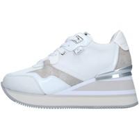 Sko Dame Høje sneakers Apepazza S1HIGHNEW07/NYL WHITE