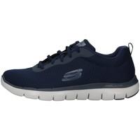 Sko Herre Lave sneakers Skechers 52125 NAVY BLUE