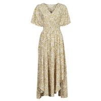 textil Dame Lange kjoler Betty London ONINA Gul / Hvid