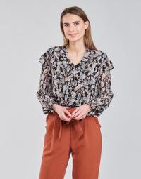 textil Dame Toppe / Bluser Betty London OCARA Sort / Flerfarvet