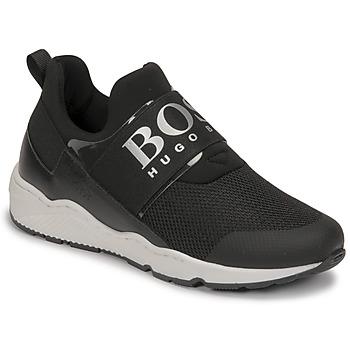 Sko Dreng Lave sneakers BOSS FETINA Sort