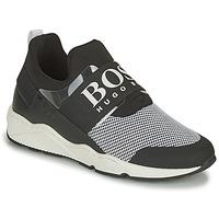 Sko Dreng Lave sneakers BOSS NATINA Sort / Hvid