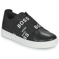 Sko Lave sneakers BOSS KAMILA Sort / Hvid
