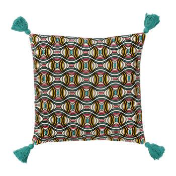 Indretning Pudebetræk Sema AFRIC-VIB Blå
