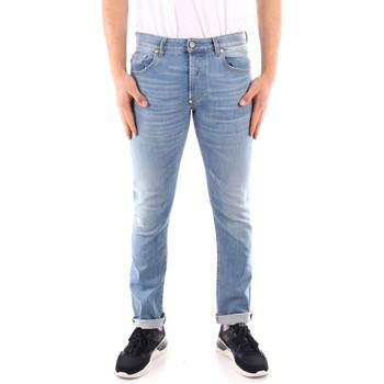 textil Herre Smalle jeans Blauer 21SBLUP03402 BLUE