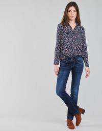 textil Dame Lige jeans Pepe jeans NEW GEN Blå