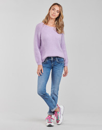 textil Dame Lige jeans Pepe jeans GEN Blå