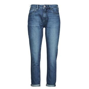 textil Dame Lige jeans Pepe jeans VIOLET Blå / Medium